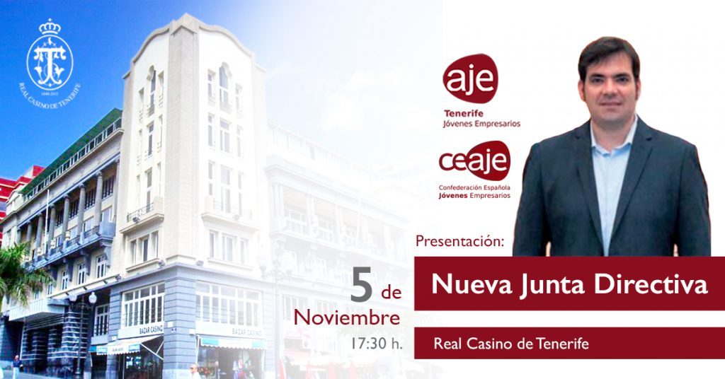 Los Jóvenes Empresarios de Tenerife presentarán su nueva Junta directiva