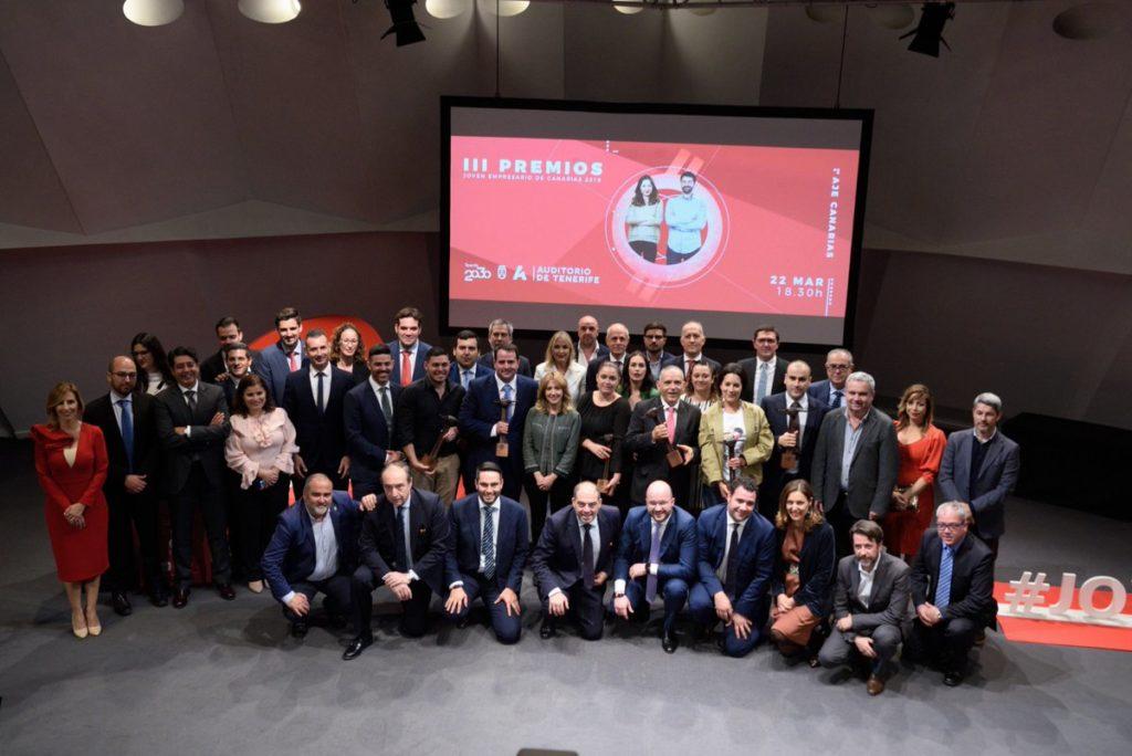 Premios Joven Empresario de Canarias 2019