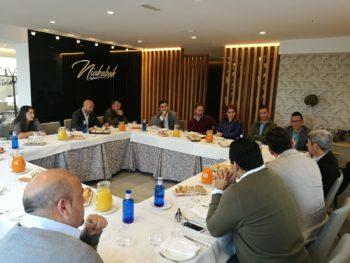 Desayunos de trabajo Jóvenes Empresarios de Tenerife